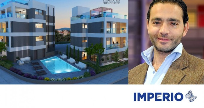 Yiannis Misirlis of Imperio at Limassol Bay Residences