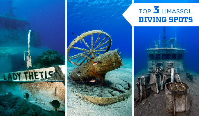 Limassol diving spots